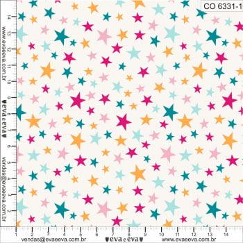 KIT-8 - Tecido tricoline 100% algodão - 1 metro de cada estampa