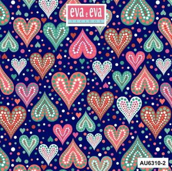 AU6310-2- tecido tricoline estampado larg.1,50 - Coleção Amor Urbano