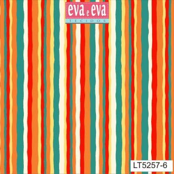 LT5257-6-TRICOLINE IPANEMA 100% ALGODAO ESTAMPADO
