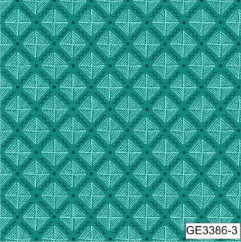 GE3386-3 -TRICOLINE IPANEMA 100% ALGODAO ESTAMPADO