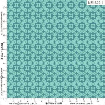 NE1322-1M-TRICOLINE IPANEMA 100% ALGODAO ESTAMPADO