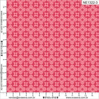 NE1322-3M-TRICOLINE 100% ALGODÃO - Coleção Florescer