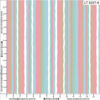 LT5257-9-TRICOLINE IPANEMA 100% ALGODAO ESTAMPADO