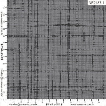 NE2487-1 - TRICOLINE 100% ALGODÃO - Coleção Neutro Tom Tom - Linho