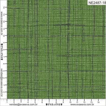 NE2487-18-TRICOLINE 100% ALGODÃO - Coleção Neutro Tom Tom - Linho