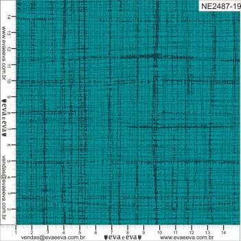 NE2487-19-TRICOLINE IPANEMA 100% ALGODAO ESTAMPADO