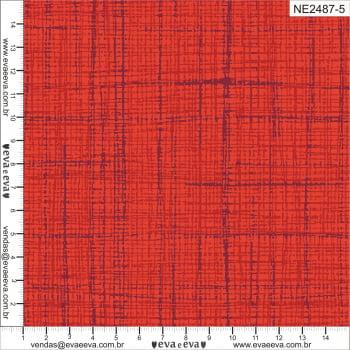 NE2487-5 - TRICOLINE 100% ALGODÃO - Coleção Neutro Tom Tom - Linho