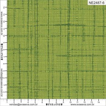 NE2487-6 - TRICOLINE 100% ALGODÃO - Coleção Neutro Tom Tom - Linho