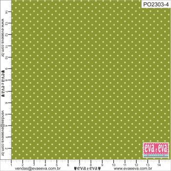 PO2303-4-TRICOLINE 100% ALGODÃO - Coleção Poás
