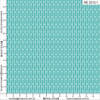 NE2512-1M TRICOLINE IPANEMA 100% ALGODAO ESTAMPADO